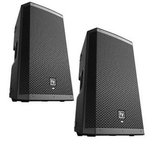Electro Voice ZLX 12P Active Speakers